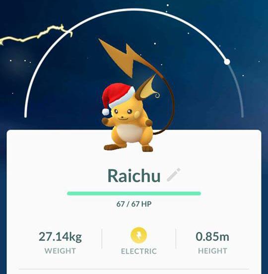Festive Raichu