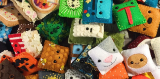 Felt Faces by Becky Margraf