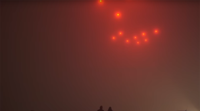 Bye Fireworks, Hello Drones