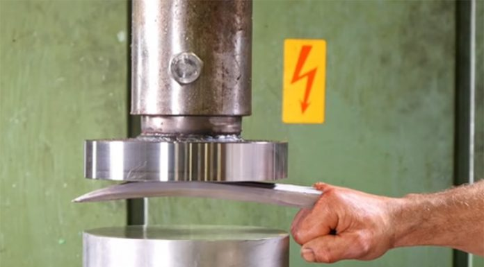Can Wolverine's Adamantium Claws Be Crushed By A Hydraulic Press?
