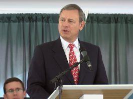 Kick Ass Speech From Chief Justice John Roberts: I Wish You Bad Luck.