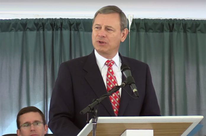 Kick Ass Speech From Chief Justice John Roberts: I Wish You Bad Luck.